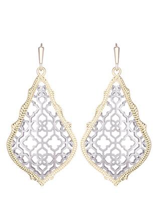 Kendra Scott Classics Addie Earrings in Silver