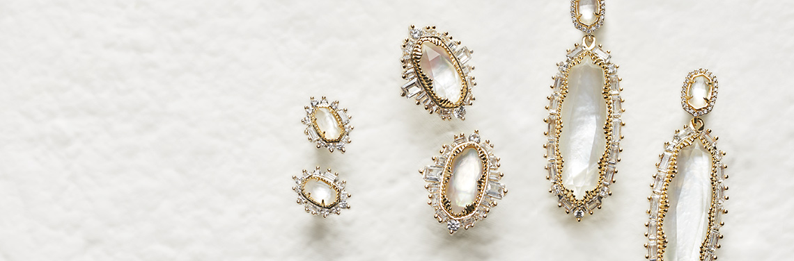 Special occasion statement earrings from Kendra Scott Bridal Collection