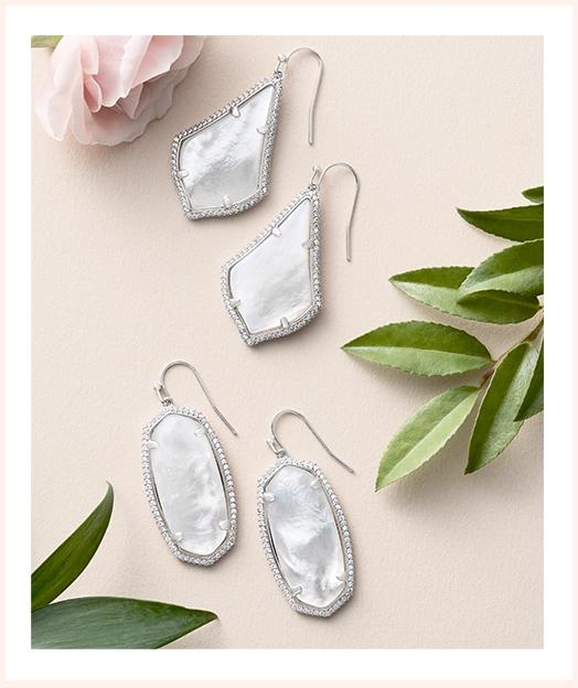Kendra Scott Design Your Own Color Bar earrings for your big day