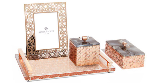 Decorative Boxes And Trays : Decorative trays boxes photo frames kendra scott home