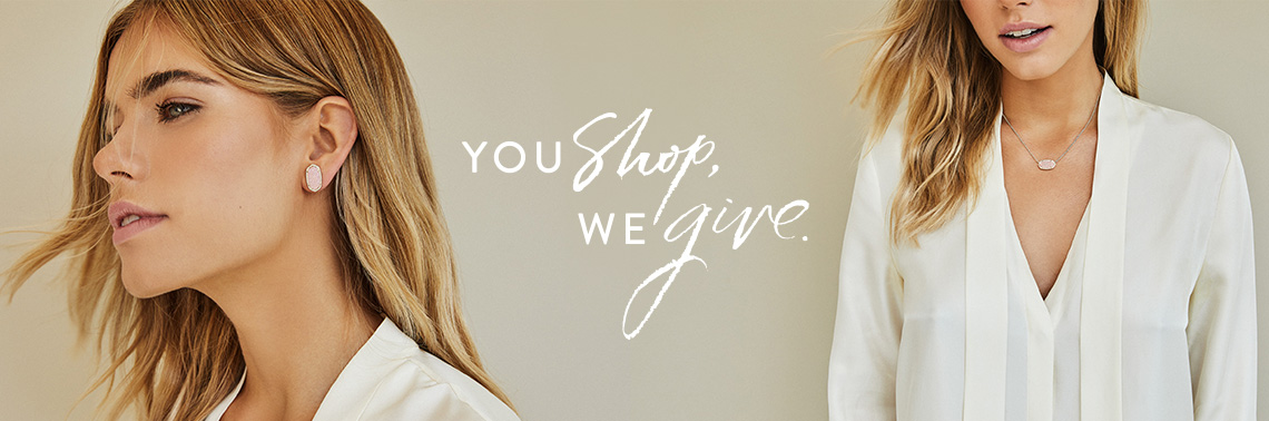 You shop, we give