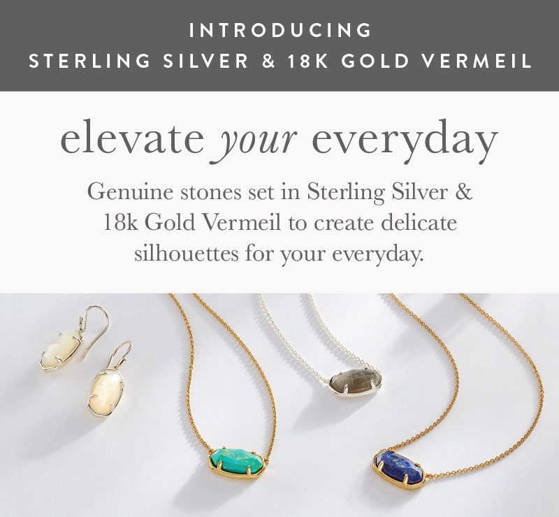 Introducing Sterling and Vermeil