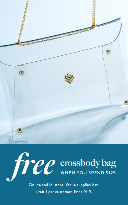 Free Crossbody Bag When You Spend $125