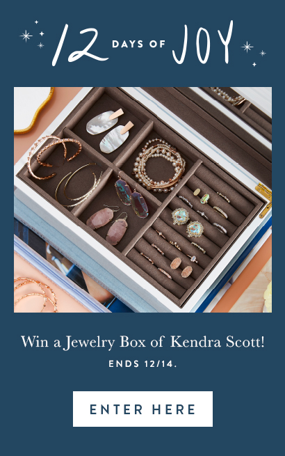Kendra Scott 12 Days of Joy Sweepstakes