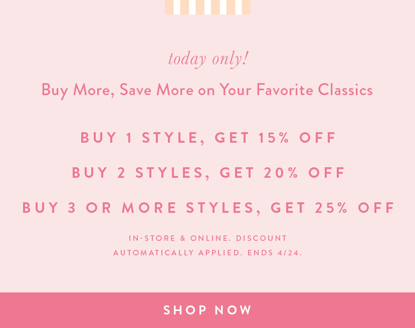 Buy More Save More on Customer Favorites