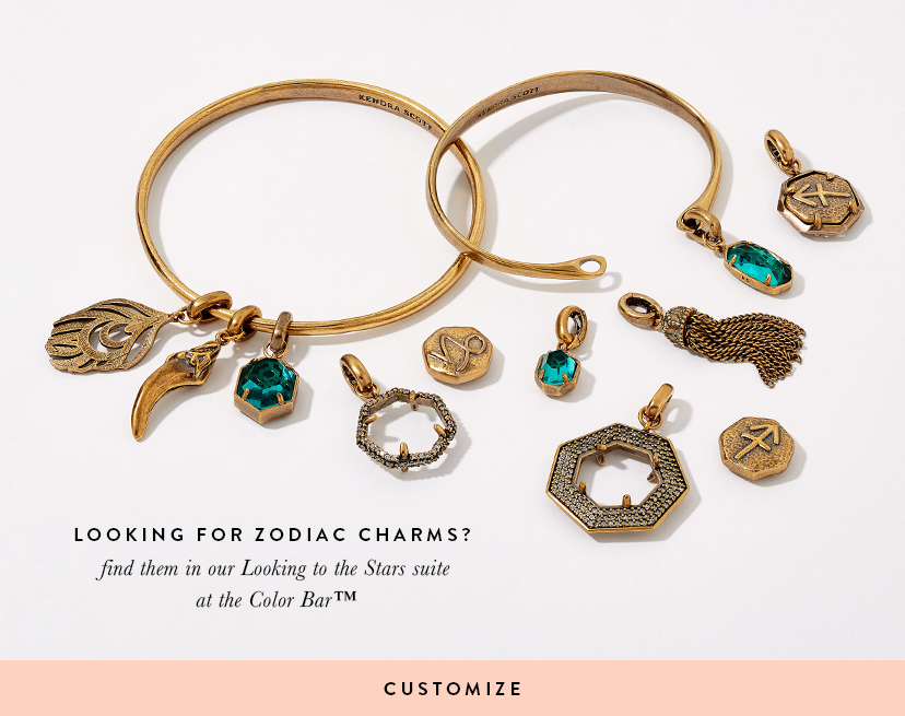Customize Your Zodiac Coin Charms