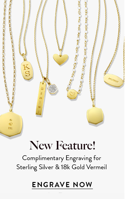 Kendra Scott Engravable Jewelry Styles