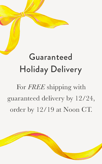 Holiday Free Shipping Cut Off