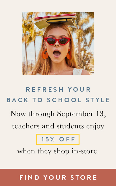 Find Your Store for Back to School Shopping