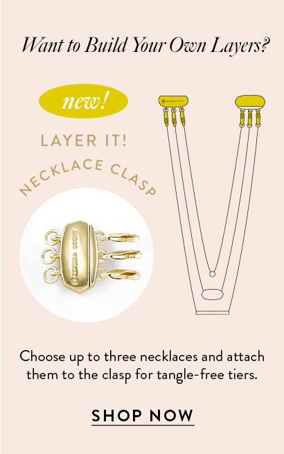 Kendra Scott Layer It Necklace Clasp