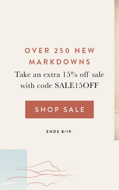 New Markdowns Added Sale on Sale