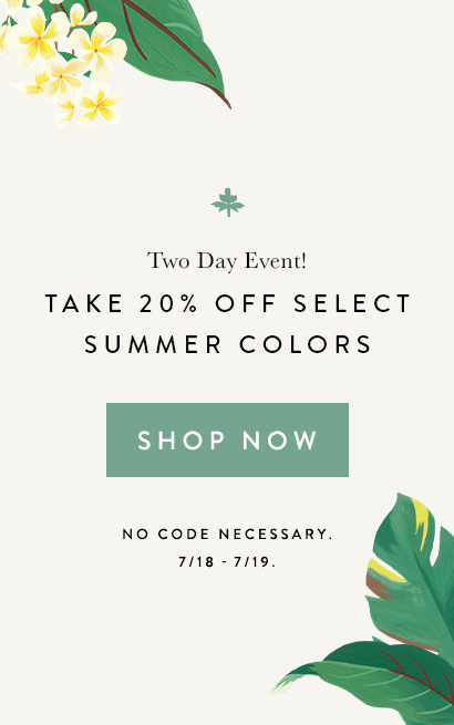 Save on Select Summer Colors