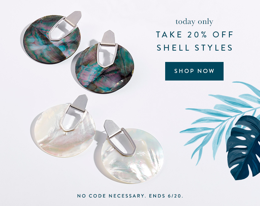 Save on All Shell Styles Today Only