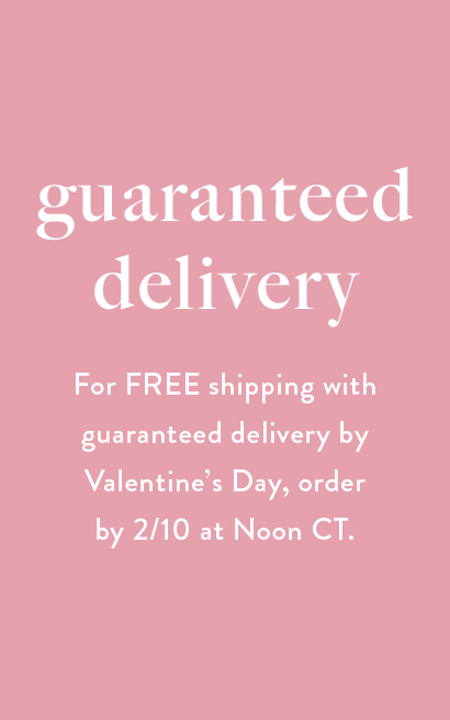 Kendra Scott Valentine's Shipping Cut Off